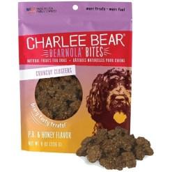 Charlee Bear Bearnola Bites Peanut Butter & Honey Flavor Dog Treats, 8-oz SKU 8710800691