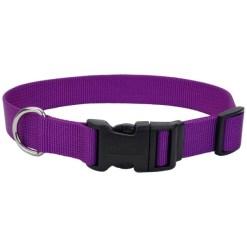 Coastal Adjustable Dog Collar with Plastic Buckle, Purple, 14in SKU 7648404674