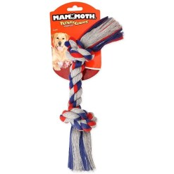 Mammoth Flossy Chews' Braidys 2 Knot Rope Bone Dog Toy, Medium, Color Varies SKU 4677220004