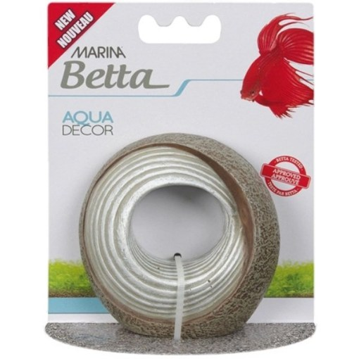 Marina Betta Stone Shell Aqua Decor SKU 1556112235