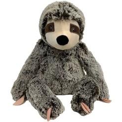 Multipet Jumbo Sitting Sloth Plush Dog Toy SKU 8436958396