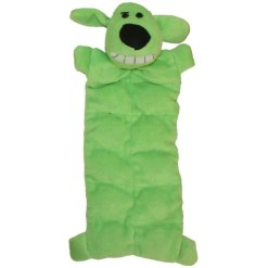 Multipet Loofa Squeaker Mat Soft Plush Dog Toy, 12 in, Color Varies SKU 8436947914