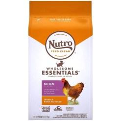 Nutro Wholesome Essentials Chicken & Brown Rice Recipe Kitten Dry Cat Food, 5-lb SKU 7910512880