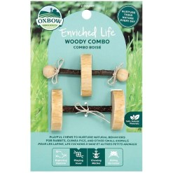 Oxbow Enriched Life Woody Combo Small Pet Chew Toy, 2 Pack SKU 4484596317