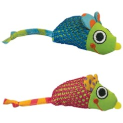 Petstages Mice Cat Chew Toy with Catnip SKU 7186400327