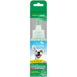 TropiClean Fresh Breath Clean Teeth Berry Fresh Oral Care Gel, 2-oz SKU 4509500229