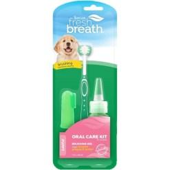 TropiClean Fresh Breath Puppy Oral Care Kit SKU 4509500200