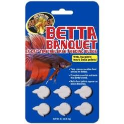 Zoo Med Betta Banquet 7 Day Release Feeding Block SKU 9761211710
