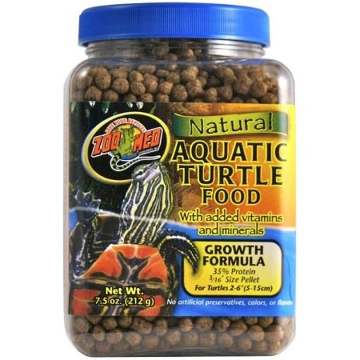 Zoo Med Natural Aquatic Growth Formula Turtle Food, 8.5-oz SKU 9761241051