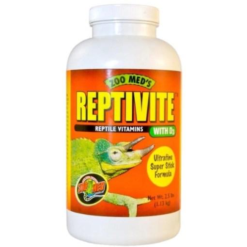 Zoo Med Reptivite with D3 Reptile Vitamin, 2-oz SKU 9761210362