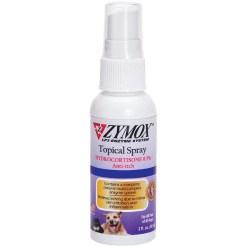 Zymox Enzymatic Topical Spray with Hydrocortisone 0.5% for Dogs & Cats, 2-oz SKU 6733422904