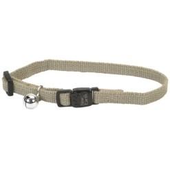 Coastal New Earth Soy Adjustable Breakaway Cat Collar, Olive SKU 7648414703