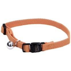 Coastal New Earth Soy Adjustable Breakaway Cat Collar, Pumpkin SKU 7648414705