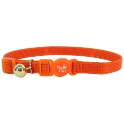 Coastal Safe Cat Adjustable Snag-Proof Breakaway, Sunset Orange SKU 7648472428