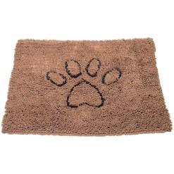 Dog Gone Smart Dirty Dog Doormat, Brown, Large SKU 1337001725