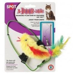 Ethical Pet A-Door-Able Plush Bird Cat Toy SKU 7723402475