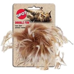 Ethical Pet Double Fun Cat Toy with Catnip, Color Varies SKU 7723402706