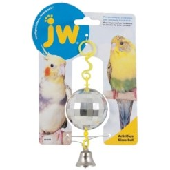 JW Pet ActiviToy Disco Ball Bird Toy SKU 1894031059