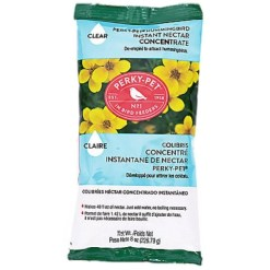 Perky-Pet Clear Powder Hummingbird Nectar Concentrate, 8-oz Bag SKU 7897855005