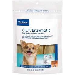 Virbac C.E.T. Enzymatic Oral Hygiene Dental Dog Chews, X-Small, 30 Count SKU 1451402086