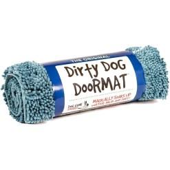 Dog Gone Smart Dirty Dog Doormat, Blue, Large