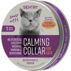 Sentry Good Behavior Calming Collar for Cats, up to 15-in neck SKU 7309105337