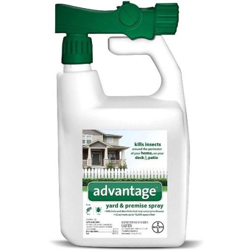 Advantage Flea and Tick Yard Spray, 32-oz SKU 2408979443