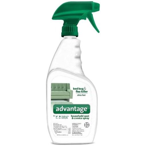 Advantage Household Flea, Tick, Dust Mite and Bed Bug Spot & Crevice Spray, 24-oz SKU 2408979346