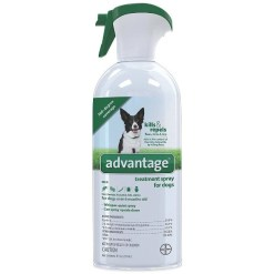 Advantage Topical & Indoor Flea & Tick Spray for Dogs, 8-oz SKU 2408911346