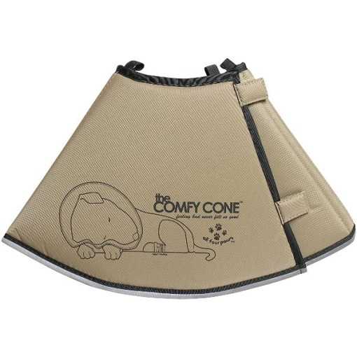 All Four Paws Comfy Cone E-Collar for Dogs & Cats, Large, Tan SKU 2859426026