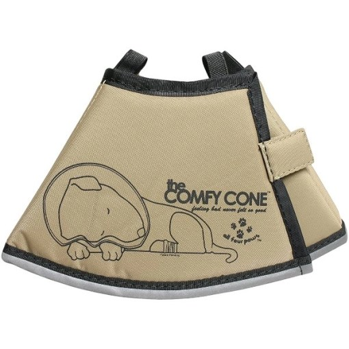 All Four Paws Comfy Cone E-Collar for Dogs & Cats, Small, Tan SKU 2859426024