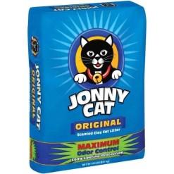 Jonny Cat Original Scented Clumping Clay Cat Litter, 20-lb Bag SKU 4133400108