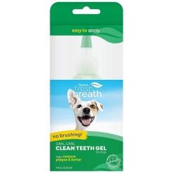 TropiClean Fresh Breath No Brushing Clean Teeth Dog Dental Gel, 4-oz SKU 4509500100