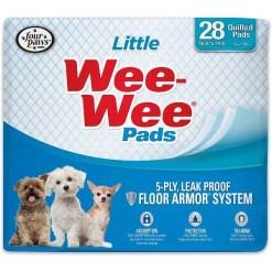 Wee-Wee Little Dog Pee Pads, 28 Count SKU 4566301628