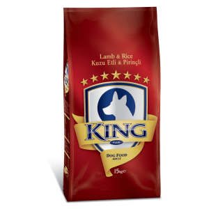 King Adult Dog Food Lamb Rice