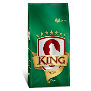 King Plus Adult Cat food fish