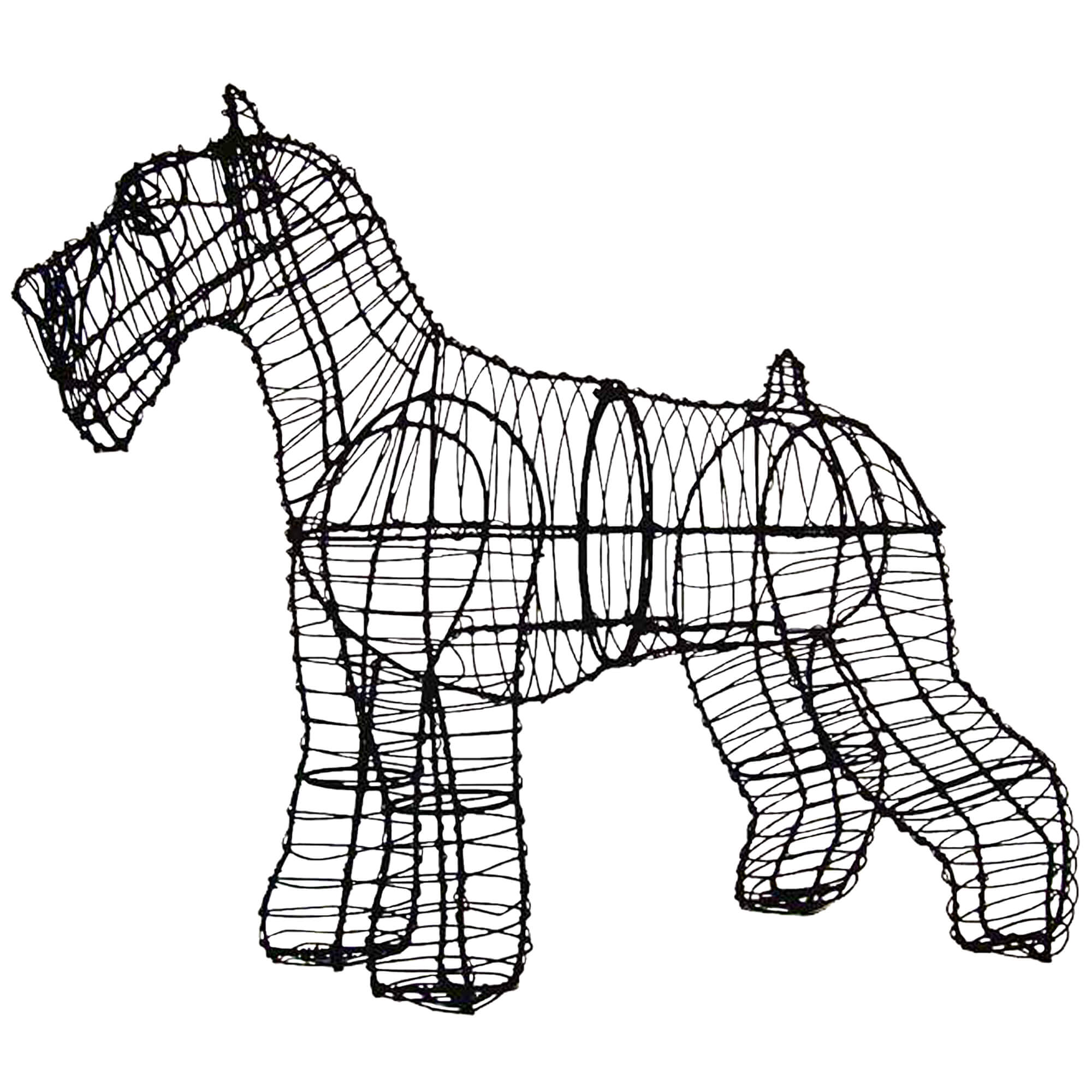 Lovely wire art rabbits images simple wiring diagram images