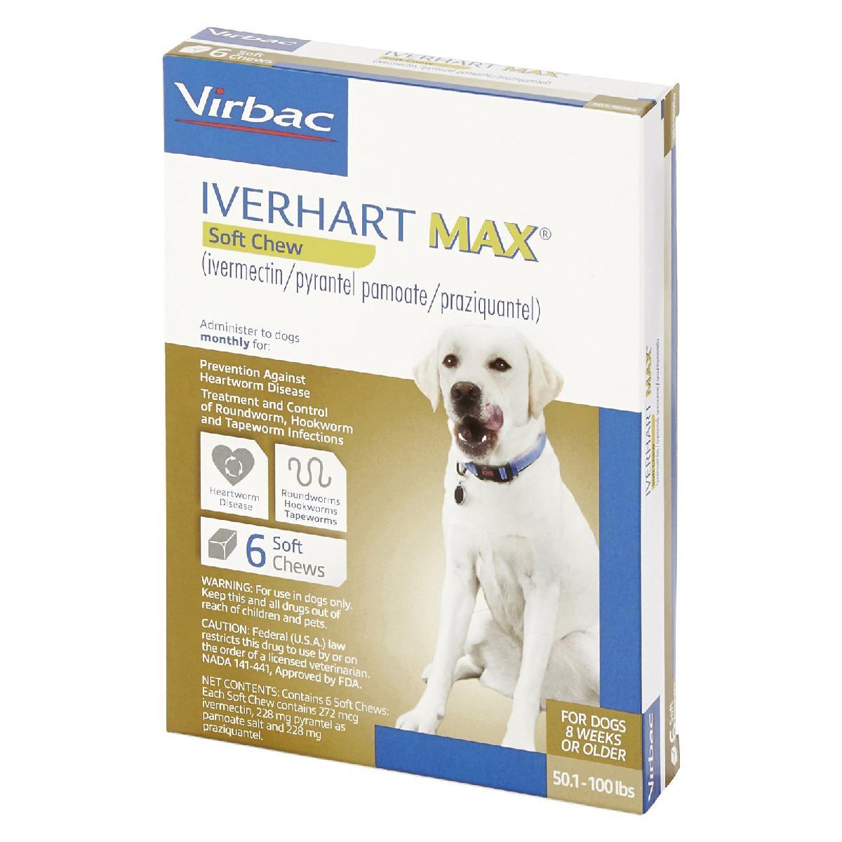 Iverhart Max (ivermectin/pyrantel pamoate/praziquantel ...