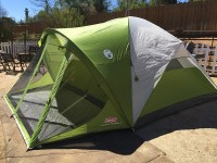Coleman Evanston Screened 8 Tent - Pet Terrain