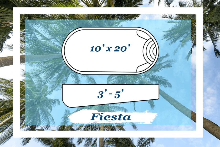 The Fiesta Pettit Fiberglass Pool