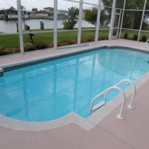 Roman Pettit Fiberglass Pool