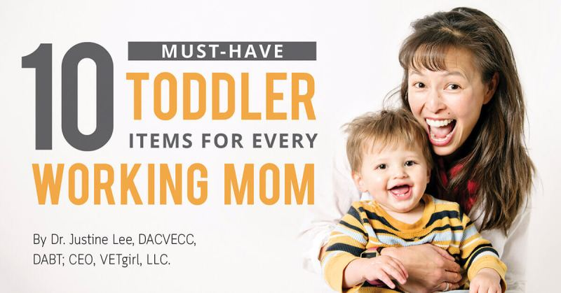 10 Must-Have Toddler Items for Every Working Mom