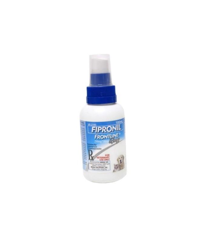 Fipronil Frontline Flea & Tick Treatment 100ml Dog/Cat ...