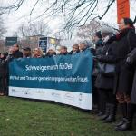 Schweigemarsch am 16.12.2016 in Kiel