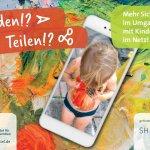 Senden!? Teilen!? Mehr Sicherheit im Umgang mit Kinderfotos im Netz! Eine PETZE-Postkarte zum Verschicken