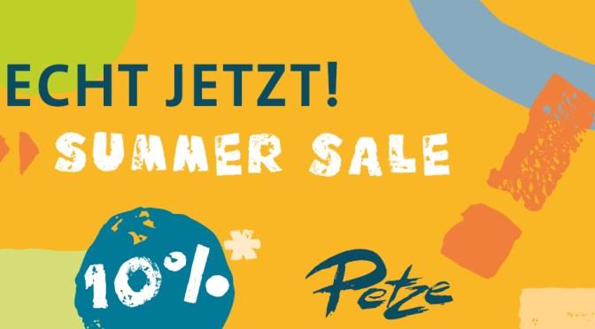 ECHT JETZT! SUMMER SALE! vom 1. Juli bis 30. September