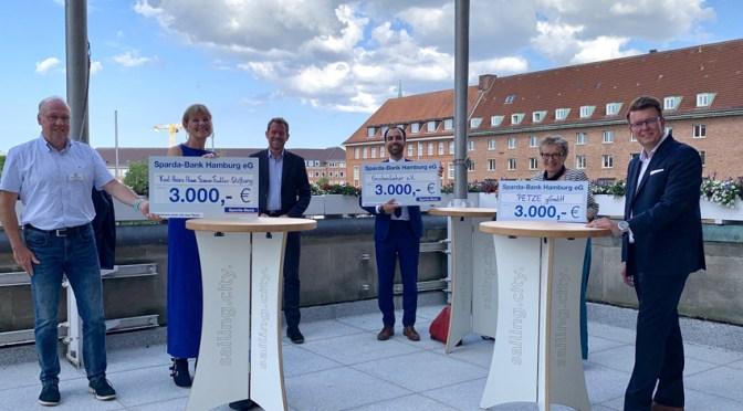Spende der Sparda-Bank Hamburg eG Filiale Kiel über 3.000 € für das Projekt ECHT! Mein Recht!