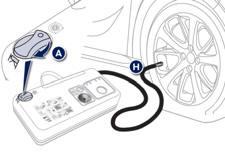 Repair procedure :: Temporary puncture repair kit