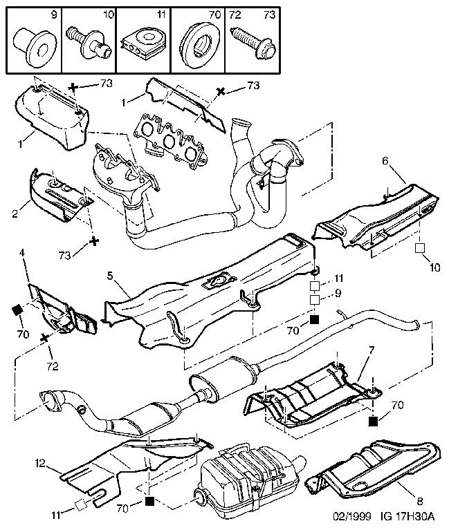 commande groupée collecteur inox sur mesure v6 194ch