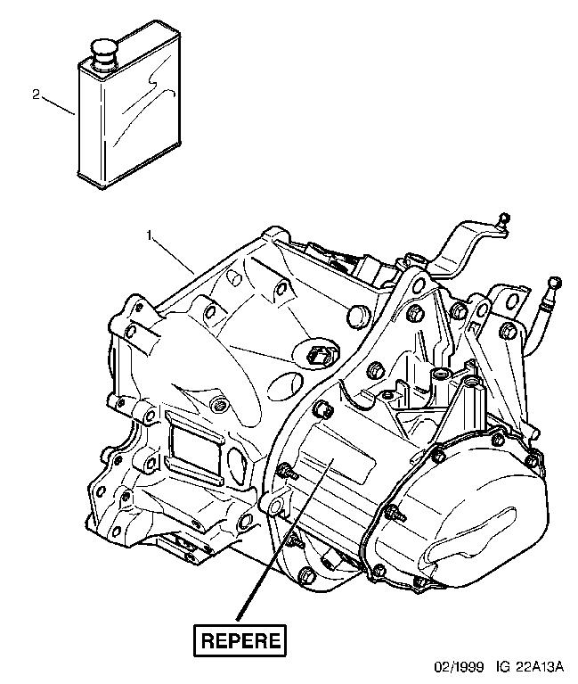 2205 XG 01 NEW MEC GEARBOX